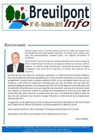 Breuilpont Info Num 45 Oct 2015