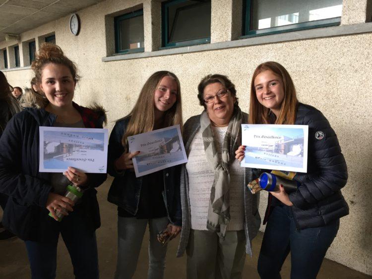 Prix d'Excellence : Trois Breuilpontoises à l'honneur !!!