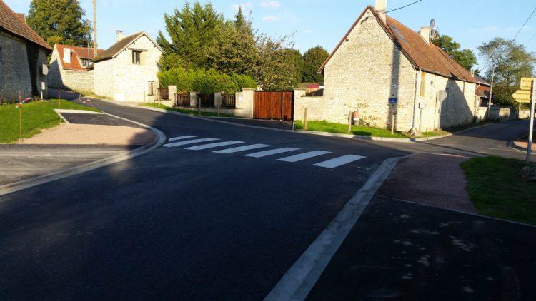 Aménagement du carrefour de Saint-Chéron