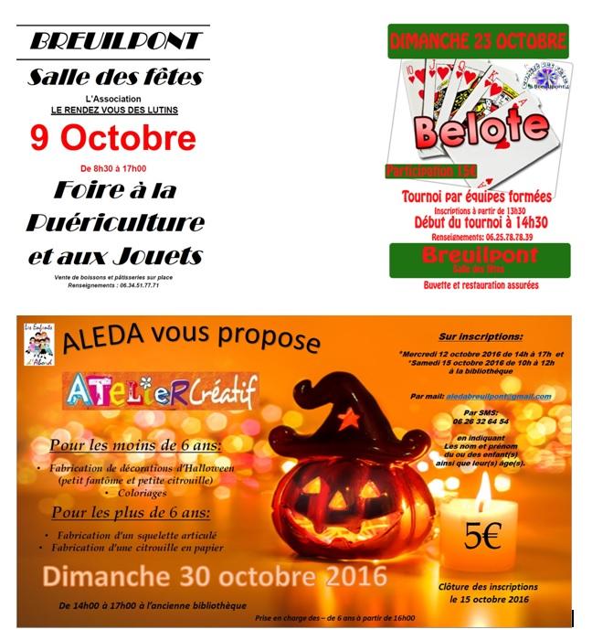 Çà se passe en Octobre à Breuilpont !