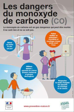 Campagne d'information 2016-2017 de prévention et d'information sur les risques d'intoxication au monoxyde de carbone