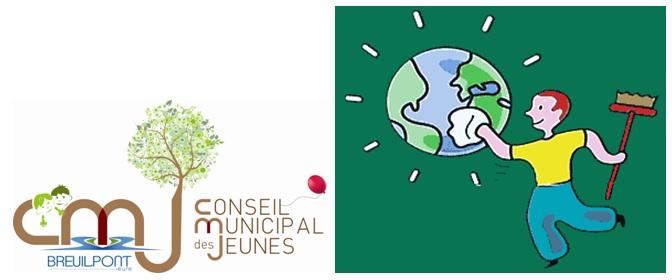Opération «Nettoyage nature» – Organisée par le CMJ de votre commune