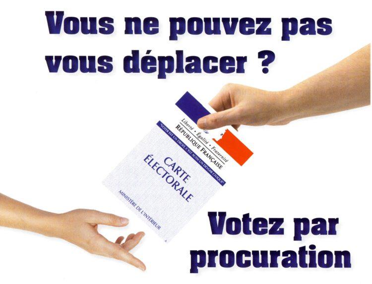 Vote par procuration – Élections 2017