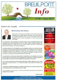 Breuilpont Info Num 50 Juin 2017