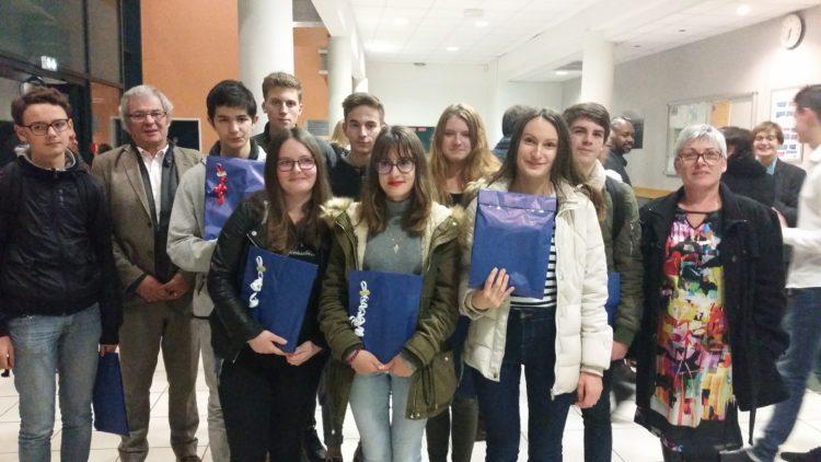Remise des diplômes au collège Lucie Aubrac de Bueil