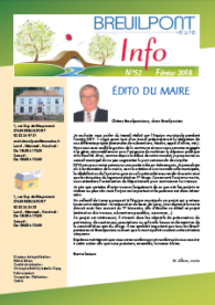 Breuilpont Info Num 52 Fév 2018