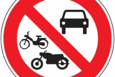Interdiction de circulation et de stationnement