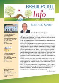 Breuilpont Info Num 54 Oct 2018