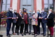 Inauguration d'une pâtisserie à Breuilpont