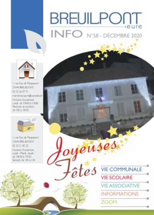 Le nouveau Breuilpont Info est paru !